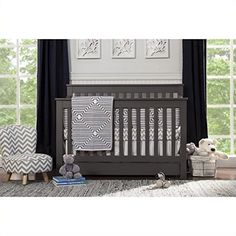 da vinci piedmont 4in1 convertible crib with toddler rail in slate