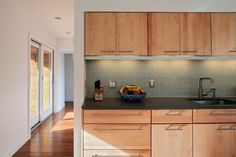 Love the cabinets and handles.