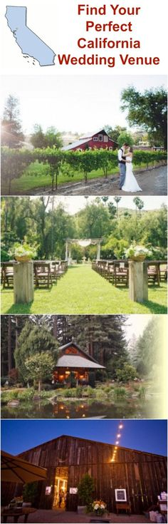 All the best California wedding venues