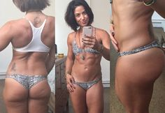 """Even the fittest women don't have photoshop-""""perfect"""" bodies, and that's okay"""