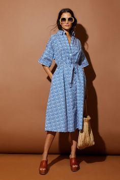 Safari Shirtdress   Cobalt Sound - Tucker Silk Dress, Wrap Dress, Blouse Dress, New Wardrobe, Pretty Outfits, Work Outfits, Pretty Clothes, Spring Summer Fashion, Spring Style
