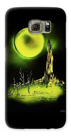 Land Of Rituals Galaxy S6 Case Printed with Fine Art spray painting image Land Of Rituals by Nandor Molnar (When you visit the Shop, change the orientation, background color and image size as you wish)