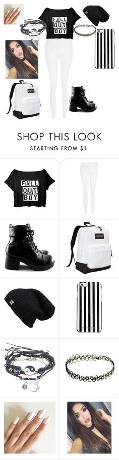 """""""fall out boy concert"""" by bettyboop2001 on Polyvore featuring New Look, JanSport and MICHAEL Michael Kors"""