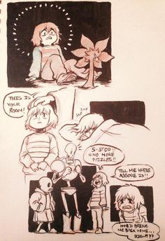 If Frisk actually really wanted to go home