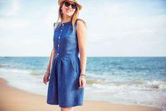 Robe Belle-Ile - Anne Kerdilès Couture - Patrons de couture femme