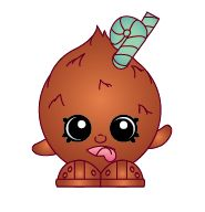 Coco Nutty (Shopkins 1-144) Coco Nutty is a brown fuzzy coconut with a green straw sticking out of his head. Coco Nutty is an exclusive Shopkin from Season One. He is included in the Fruit & Veg Stand Playset with Pumpkinella.