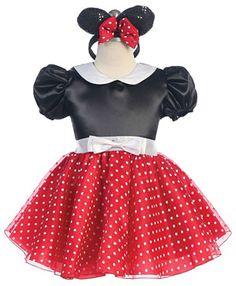 d30f400c7 Girls Dress Up Costume Style 1213-Minnie Mouse Inspired Costume This  costume is inspired by