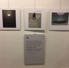 Inauguramos  <<Cámara Lúcida>> en La Caldereta organizada por la @fundaciondisa #SanMateoCultura #VegaDeSanMateo #LaCalderetsSalaDeExposiciones #Exhibit #CámaraLúcida #Photo #Fotografía #DiversidadFuncional #DISA #FundaciónDisa #ONCE #ArteContemporáneo #InstaArt #PicOfTheDay #ConcienciaciónSocial #Ciego #Ceguera