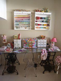 Minha Mini Mansão: Atelier ou Craft Room Dani Terra
