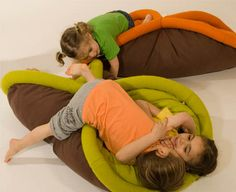 Transformable pad for lazy living. And I can think of a zillion uses for special needs. Life Space, Home Daycare, Special Kids, Sensory Activities, Sensory Motor, Sensory Tools, Gross Motor Skills, Cozy Bed, Sleeping Bag
