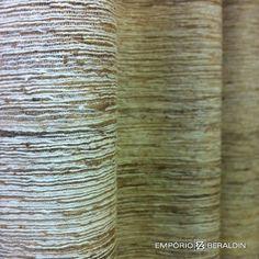 Seda rústica para uso em cortinas ou estofados.