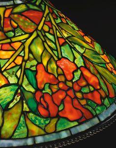 tiffany studios a rare trumpet Tiffany Art, Tiffany Glass, Cool Lamps, Cool Floor Lamps, Antique Lamps, Antique Lighting, Art Deco Lamps, Stained Glass Lamps, Glass Design