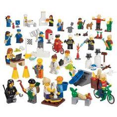 LEGO Community Miniature Figure Set - Contains 256 Pieces - dream on... LOL $46.94