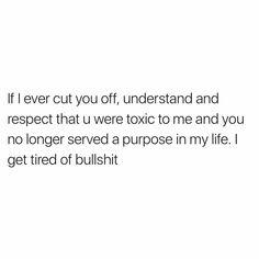 Tired of Bullshit
