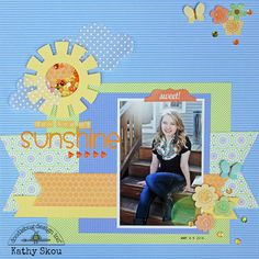 Hi Everyone, Kathy today with a couple of projects featuring Doodlebug's Sequins ! These sequins are just FABULOUS! They come in 12 diff...