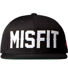 e0c3958f misfit snapback Flat Bill Hats, Types Of Hats, Cool Hats, Love Hat,