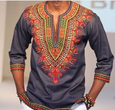 Hey, I found this really awesome Etsy listing at https://www.etsy.com/listing/237938423/grey-dashiki-shirt-available-as-pictured