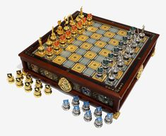 Harry Potter Quidditch Chess Set adds a little magic to your game night