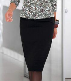 Falda tubo estilo años 50 #venca