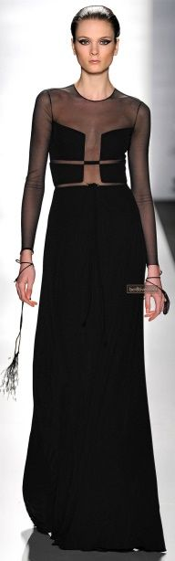 Chado Ralph Rucci Fall 2013 New York Fashion Week