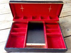 Vintage Jewelry Box Mad Men Styled Box Mid by RipeAndRecherche