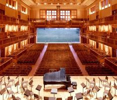 1,180 Seat - Ozawa Hall - Tanglewood Music Center, Lenox, Massachusetts