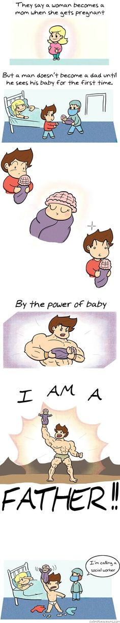 When a man becomes a dad… - One Stop Humor: Funny Pictures and Videos!