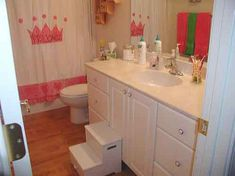 Decorating For Girl Classic Disney Princess Bathroom Decorating Ideas Shower Remodeling