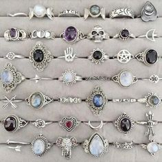 Imagen de rings, grunge, and accessories