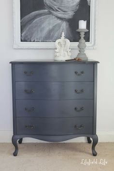 Chalk paint doesn't always need distressing
