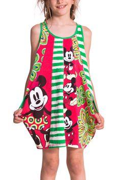 Vestido de Disney para niña | Desigual Fresa