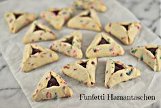 Funfetti Hamantaschen | Community Post: 36 Mouthwatering Hamantaschen To Make This Purim