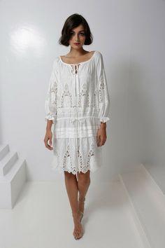 Spring 2013 RTW, Designer: Norma Kamali, Model: Darla Baker