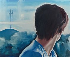 Wilhelm Sasnal (Polish, b. Sutro Tower, Oil on canvas, 46 x cm. Wilhelm Sasnal, Love Art, Les Oeuvres, Oil On Canvas, Tower, Artwork, Image, Basel, Polish