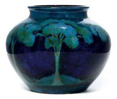 Moorcroft Moonlit Blue Vase #bluemonday