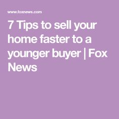 7 Tips to sell your home faster to a younger buyer Countertop Overlay, Home Buying Checklist, Getting Ready To Move, Movin On, Home Staging Tips, Sell Your House Fast, Kitchen Upgrades, Organization Hacks, Organizing Tips