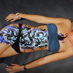 #graffiti #graffitiart #streetart #bodypainting #bodymods #body #womenbody #graffitistickers #graffitislaps #graffslaps #graffititag #bombing #curves #paint #graffitipaint #grafftitties #grafflife #facepaint #makeupideas #lovemakeup #tattoo...