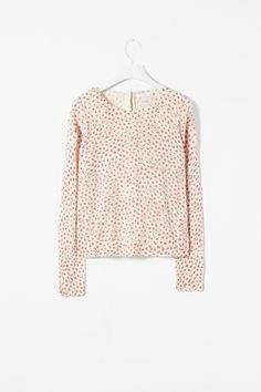 Shadow print jumper