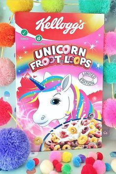 Just When We Thought We Were Over Unicorns, These Froot Loops Pulled Us Back In OMG! Am mâncat cereale dinastea❤❤❤❤❤Sunt super bune❤