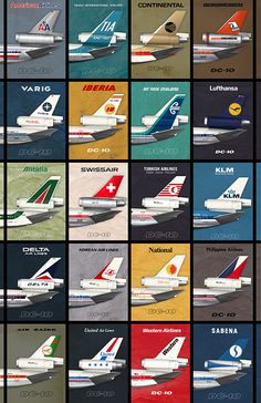 (NEW) Empennage Airliner Poster - 11 x 17 Edition Paper Airplane Models, Model Airplanes, Northwest Airlines, Women In History, Ancient History, Airline Logo, Gernal Knowledge, Passenger Aircraft, Aviation Art