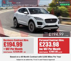 Car Lease Special Offers are leasing & contract hire experts helping personal and business users find the cheapest and best leasing deals and offers in the UK. Lease Specials, Jaguar E, Diesel, December, Cars, Diesel Fuel, Autos, Car, Automobile