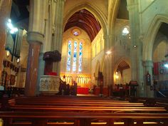 Bermuda Anglican Cathedral Hamilton Bermuda.  Photo by Kath G.