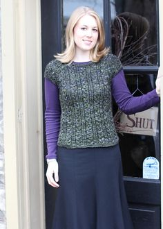Ravelry: Dublin Tee pattern by Melissa Jean Stahl  My latest sweater project shown here