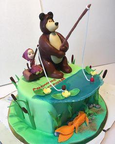 #торт Маша и Медведь