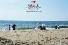 6-26-16 #PicOfTheDay #AtlanticShoresRealty #PerfectBeachDay #FamilyAndFriends #FunInTheSun #BeachHomesForSale #SundayMorning #Fishing #FishingAtTheBeach #FishingPole #FishingPoles #Couple