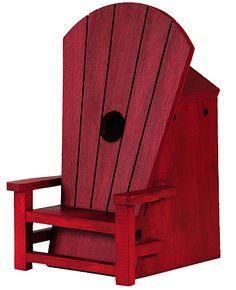 Adirondack Chair Birdhouse