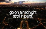 Would love to go to Paris!