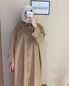 Hijab Fashion Summer, Modest Fashion Hijab, Modern Hijab Fashion, Muslim Women Fashion, Modesty Fashion, Casual Hijab Outfit, Modest Outfits, Fashion Outfits, Modele Hijab