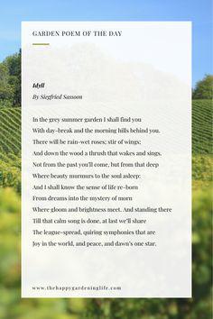 190 Garden Poems Ideas Garden Poems Poem A Day Poems
