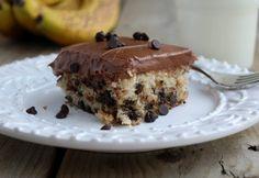 Бананово-шоколадный кекс. Готовим дома вкусный бананово-шоколадный кекс. Рецепт приготовления бананово-шоколадного кекса. Как приготовить бананово-шоколадный кекс.